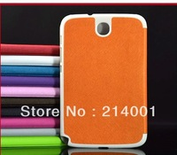 Luxury Cross Line Pattern Leather Stander Cover Case For Samsung Galaxy Note 8.0 N5100 N5110  Free shipping