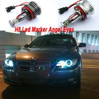 10sets/lot Branded New 20W Led maker bulbs,Cree Angel eyes Led 40Watts for BMW 1,3,5,6,X series auto led headlighting Angel eyes