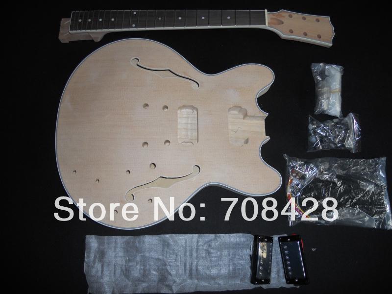 Archtop Jazz Guitar Kit Guitar Kits Archtop Hollow