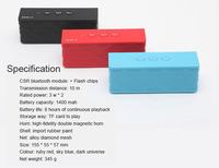 Hand Free Hot Desgin TF Card bluetooth wireless speakers for iPhone/iPad/Samsung/HTC used in indoor/outdoor/car