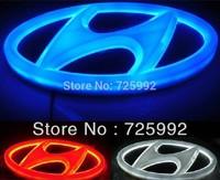 New Design Style Colorful LED logo Light Light-emitting car standard