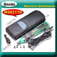 Free shipping MASTECH MS8211D Portable Pen Type Digital Multimeter Professional, AC DC Voltage Current Resistance Measurement