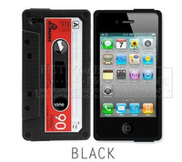 6 Color/lot Hot Selling Phone Case Cover Silicon Magnetic Tape For Iphone 4 4S