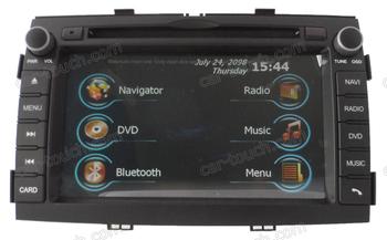 2 din auto gps navigation multimedia radio video gps for Kia Sorento
