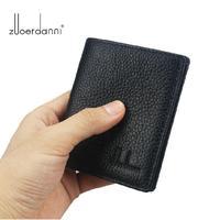Summer preferred Mini ultra-thin small wallet male short design genuine leather pocket wallet soft cowhide men purse