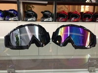 Free shipping 4 colors Glass Motorcycle Goggles skiing Goggles Windproof Motorbike motorcross off road helmet Goggles eyewear