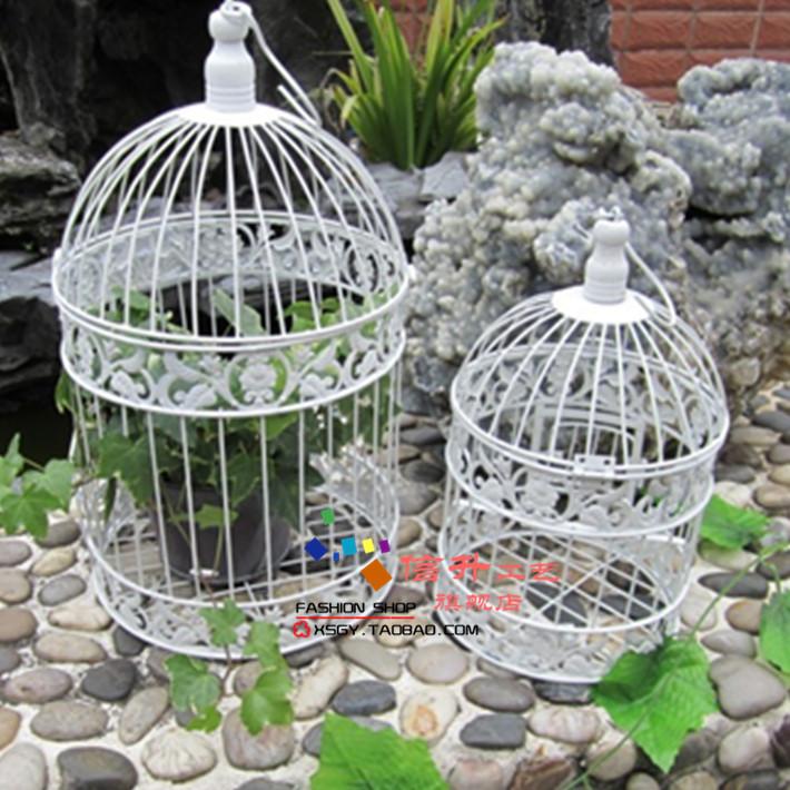 Limpar estoque grátis frete moda ferro gaiolas decorativas do pássaro casamentos(China (Mainland))