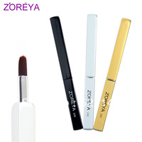 Zoreya single type retractable lip brush cosmetic brush makeup tools quality eyeshadow brush