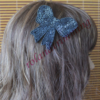 free shipping 2013 new arrival  big  bows flower clips for hair T91-95 hair