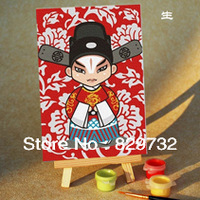 JIUJIU DIY digital oil painting Free shipping the picture unique gift home decoration 10X15cm Sheng paint by number