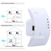Wireless-N Wifi Repeater 802.11N/B/G Network Router Range Expander 300M 2dBi Antennas Signal Boosters   WR0001