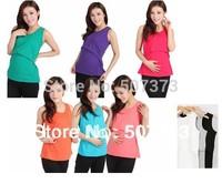 A2agx  (4 pcs / lot )  Ultralarge elastic maternity feeding vest nursing tank teethe basic postpartum spaghetti strap clothes