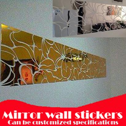 Online kopen wholesale grote spiegel uit china grote spiegel groothandel - Driedimensionale spiegel ...