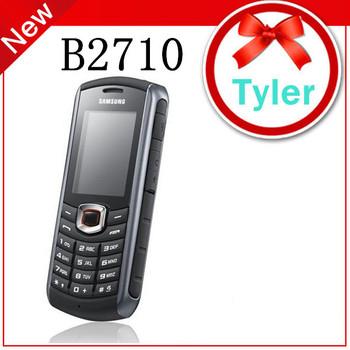 Original Samsung B2710 waterproof cell phones B2710 3G bluetooth A-GPS one year warranty, Free shipping