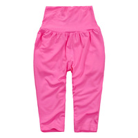 2013 fashion comfort summer baby kids candy 5 colors high waist trousers boy girl leggings harem pants wholesale free shipping