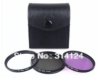 52mm Polarized CPL+UV+FLD CAMERA FILTER Kit for Nikon D3100 D5000 D5100 D7000