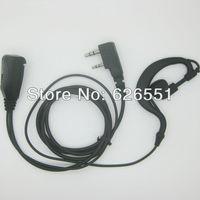Double Professional Kevlar Earpiece headset Mic. for 2 Pin Kenwood TK2140,TK2180,TK3140,TK3148,TK3160 etc Baofeng UV-5R Radio
