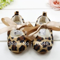 Free shipping new arrival fashion kid shoes for girl,baby girl leopard prints lace-up shoes