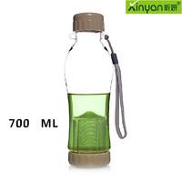 Free shipping 700ml water bottle,Casual travel bottle,plastic Sport cups,pc of food grade health water bottle