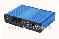 [DHL FREE SHIPPING!] WHOLESALE 20pcs/lot High Quality USB 6 Channel 5.1 External Audio Sound Card For Laptop