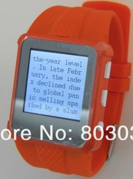 Ad668 MP4 плеер часы ( цена включая 2 ГБ карты памяти ) бесплатная доставка Q668 белый видео MP4 часы