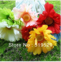 High artificial wool pole gerbera artificial chrysanthemum silk flower artificial flower dried flowers color !