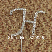 wholesale rhinestone cake toppers