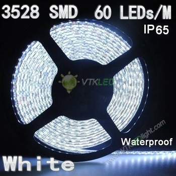 free shipping 50m/lot 3528 60 LED strip light,DC 12v  flexible 3528 led strip light,led strip 3528 white CE&Rohs 2years warranty