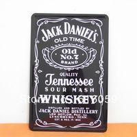 [ Do it ]  JACK Metal tin signs Bar Metal painting 20*30 CM A-3 Free shipping