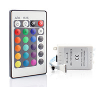 DC 12V 24 Key IR Remote Color Change Controller for RGB Led Strips Common Cathode