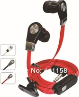 500PCS JM02 Handsfree Earphones and Headphone Handset for Mobile Phone/Computer/MP3/MP4 with Retail Packaging DHL Free Shipping