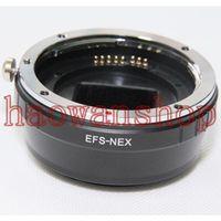 EF-NEX AF Metal electronic auto focus Lens Adapter Ring for EF EF-S Lens to Sony NEX NEX 7 C3 5N 5R 6R