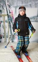 Free shipping winter Children ski suit winter waterproof hiking camping snowboard suit jacket pants boy's clothing set outerwear