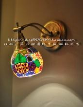 Bohemia rustic mirror light Wall lamp/lights/lighting free shipping(China (Mainland))