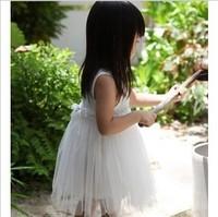 retail 2014Summer girls' snow white princess dress,children' casual dresses,baby tutu clothing,kids Chiffon sets brand,girl wear