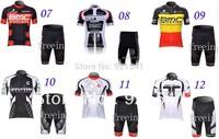 High quality! 65 Style 2013 men's sportswear Cycling Clothing ciclismo Cycling Jersey Bike jersey Shirt + BIB short Sets