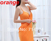 2013 NEW Sexy bandage woman towel fabric bath robe, gown dress bathrobe beach bath towel fabric breathable,Free Size