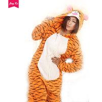 Adult Animal Angry Tiger Pajamas Suit Onesie Cosplay  Custome