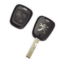High Quality 2 Buttons Remote Key Shell Case for Peugeot 307 + Free Shipping