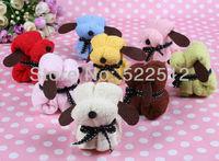 10pcs/lots 20*20cm OPP bag dog cake towel  gift birthday  wedding  Christmas' gift/Children's gift/New Year Gift  free shipping