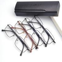 Pure Titanium toughness Full rim optical frames mens fashion eyeglasses wholesale glasses men titanium (120503)