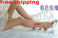 Free Shipping 2013 New Fashion for women girl lady Trendy Sexy Tattoo tights Stockings socks pantyhose Mickey Mouse Donald Duck