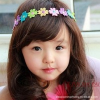 Free Shipping Retail&Wholesale 2PS/Package Fashion New Baby Infant Toddler Headband Flower Hair Band Headwear 1 Color FS-FD