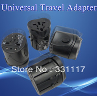 International All-IN-ONE Universal Travel Power Charger AC adapter plug US/EU/UK/AU ,Freeshipping Dropshipping Wholesale