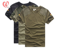 army shirt Knight  outdoor clothing German cotton short-sleeved t-shirt 3040#  free shipping