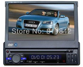 1Din Touchscreen in dash 7 INCH Car Stereo DVD Player/ BT/ FM /AM/ USB/SD