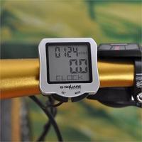 New LCD Bicycle Cycle Bike stopwatch Computer Odometer Waterproof Speedometer