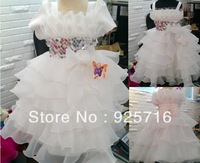 Most beauty girl dress ultra pure white skirt - to send the most beautiful baby dresses --- This design also retail