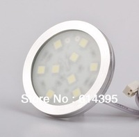 5PCS /Lot NEW  led cabinet light  5050SMD 12V 1.8W aluminum indoor furniture led under cabinet down light show case easy install