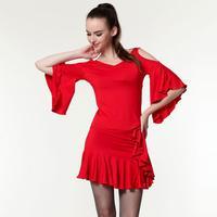 Summer hcdance Latin dance Latin practice service set square dance clothes 1041 2039